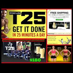 For details visit www.beachbodycoach.com/combatmom It's time ... Focus T25 is HERE! IDK about you, but my calories are burning just looking at it. Order now and get free shipping for a limited time. Challenge group starts July 8th. Please let me know if you want to join. 25 minutes a day, 5 days a week, 10 weeks.