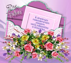 narodeninové priania d Good Morning Images Flowers, Birthday Wishes, Humor, Happy Birthday Sms, Messages, Bra Tops, Special Birthday Wishes, Humour, Funny Photos