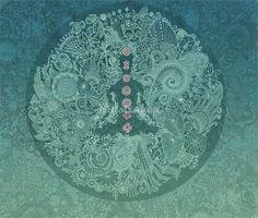 Thomas Sabo Chakra illustration by Hannah Davies