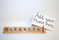 Grandpa Gift, Grandpa Photo, Grandpa Frame, Christmas Photo, Christmas Frame, Papa Photo, Gramps, Grammy Gift, Pop Pop Gift, Dad Gift, Papaw