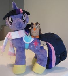 MINKY downpayment on adult MLP plush by plushypuppystudio on Etsy, $25.00