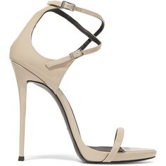 Giuseppe Zanotti Patent-leather sandals (17.682.300 VND) ❤ liked on Polyvore featuring shoes, sandals, sapatos, zanotti, blush, patent sandals, floral sandals, patent shoes, giuseppe zanotti sandals and ankle strap high heel sandals