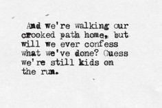 """""""Kids on the Run"""" - The Tallest Man on Earth"""