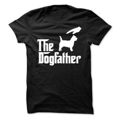 The DogFather Cairn Terrier T-Shirts, Hoodies. CHECK PRICE ==► https://www.sunfrog.com/Pets/The-DogFather-Cairn-Terrier.html?id=41382