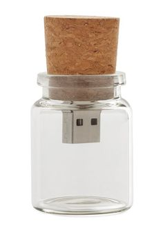 Instant Message in a Bottle USB Flash Drive - 4GB. Move super-important computer files between gadgets with this quirky USB flash drive. #gold #prom #modcloth