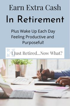 How do you feel productive in retirement? One option is to find work you love, define it your own way, and enjoy that little extra income. Consider what it would be like to do work that you truly enjoy where you set your own hours and schedule plus earn some extra cash. #supplementretirementincome #retirement #supplementingincome #retirementlifestyle via @ijustretirednowwhat