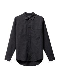 f1749195e4a6d3 Frank Leder Wool Shirt Black Stripe – Neighbour