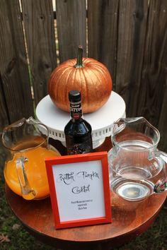 rotten pumpkin cocktail