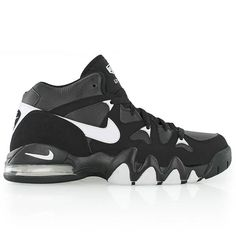 size 40 4a97b 1a5b7 nike AIR 2 STRONG MID BLACKWHITE-BLACK Jordans Sneakers, Shoes Sneakers,