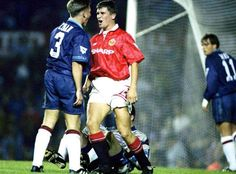 Roy Keane on his home debut in August 1993.