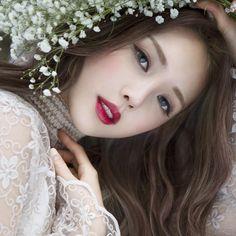 Korean magnificence Pony-Park Hye Min-Park Hye Min Pony-Korean make-up artist-Pony magnificence diar Korean Makeup Look, Korean Makeup Tips, Korean Makeup Tutorials, Asian Makeup, Korean Beauty, Asian Beauty, Korean Wedding Makeup, Art Tutorials, Pony Makeup