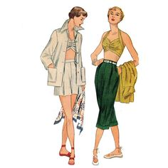 1950s Vintage Bustier Pattern Simplicity 3250 by JFerrariDesigns, $65.00