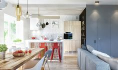 Duplex penthouse in Moscow, Russia by INT2 Architecture