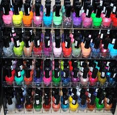 48 Piece Bulk Nail Polish Set - Include Multiple Colors and Glitter Lacquer Nail Polish Kleancolor 3 Scented Nail Polish Remover #nailpolish #nails