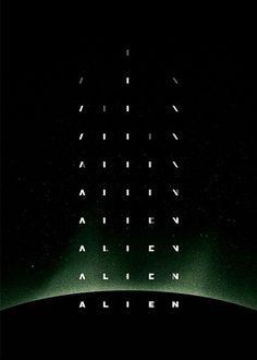 Alternative 'Alien' Posters | #1143