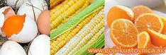 Vitamíny na oči luteín a zeaxantín - žlté potraviny