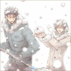 Kurofai in the snow