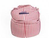 riesiger gemütlicher Sitzsack mit Namensstickerei - gefunden im Klüngelkram-Shop