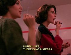 In real life, there is no algebra. Provocateur, Movie Lines, Film Quotes, Quote Aesthetic, My Mood, Infp, Mood Quotes, Edgy Quotes, Woman Quotes