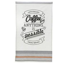Dry your dishes with durable and stylish kitchen towels. Shop Wayfair for kitchen towels and dishtowels made from cotton, microfiber, and more! Kitchen Linens, Kitchen Towels, Hand Towels, Tea Towels, Oven Glove, Kitchen Accessories, Latte, Design, Coffee