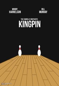 Kingpin (1996) ~ Minimal Movie Poster by Tyler Smith #amusementphile