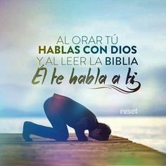 No te olvides de orar hoy