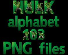 The Hulk Alphabet Hulk, Alphabet, Artwork, Movie Posters, Movies, 2016 Movies, Work Of Art, Film Poster, Films