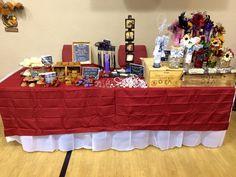 single table craft fair display Ideas for single table setups at smaller craft fairs.