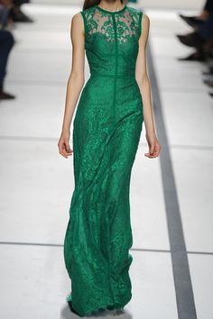 Elie Saab|Lace gown