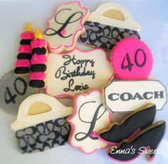 Cookies for a Coach purse lover