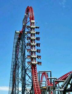 Six Flags Magic Mountain   that's the X2. it's so fun!