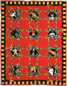 "TLC Home ""Circus Stars Quilt Pattern"""
