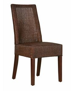 Lloyd Loom Dining Chair Chocolate Brown - - Hicks and Hicks Dining Room Table Decor, Living Room Chairs, Dining Chairs, Rattan Stool, Patchwork Chair, Wingback Armchair, Side Table With Storage, Occasional Chairs, Club Chairs