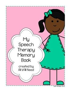 My Speech Therapy Memory Book