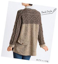 60代&70代におすすめ!おしゃれな秋の手作り大人服の作り方7選 | ぬくもり Cable Knit, Weaving, Tunic Tops, Pullover, Knitting, My Love, Sweaters, Inspiration, Women