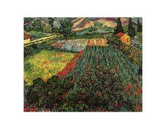 Van Gogh - Field of Poppies - Saint-Remy