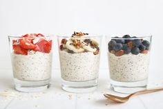 Ideas for weight watchers easy breakfast overnight oats Easy Overnight Oats, Healthy Cheesecake, Easy Healthy Breakfast, Breakfast Ideas, Breakfast Dishes, Eat Breakfast, Paleo Dessert, Love Food, Food And Drink