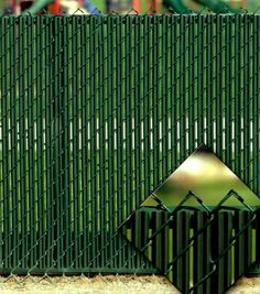 Green Privacy Fence Slats (for 6' Chain Link) Custom Fence