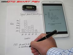 Mimoto SmartPen by Mimoto Tech — Kickstarter.  The first Smart Pen that turns your computer in to a tablet like touch screen and records your hand writing in real-time