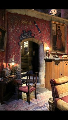 Gryfinndor Common Room inspiration
