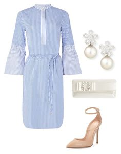 """Untitled #688"" by lovelifesdreams on Polyvore featuring Lauren Ralph Lauren, Gianvito Rossi, Nina and Belpearl"