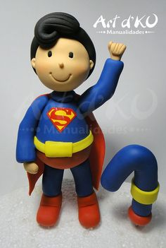 superman cake topper, superman cake ,superman pasta flexible