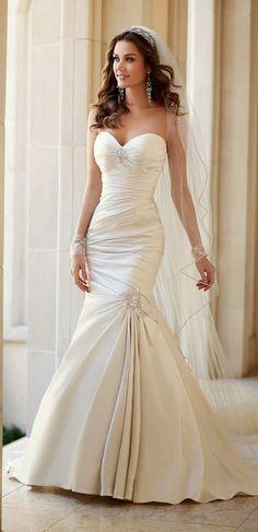 Fotos de vestidos de novia elegantes lo más nuevo del 2015