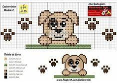 Cross Stitch Bookmarks, Cross Stitch Patterns, Crochet Patterns, Necktie Quilt, Broderie Simple, Mini One, C2c, I Love Dogs, Quilt Blocks