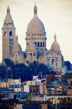 Paris. December 2009. My photo. Sacre Coeur. *Originally pinned by Nikita DeBeau onto Paris. My Photo's.