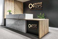 Used Office Reception Desk . Used Office Reception Desk . Corporate Office Design, Corporate Interiors, Office Interior Design, Office Interiors, Office Designs, Interior Ideas, Modern Interior, Corporate Business, Minimalist Interior