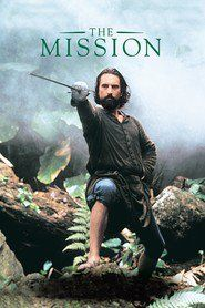 The Mission: Jeremy Irons plays a Spanish Jesuit who goes into the South American wilderness to build a mission in the hope of converting the Indians of the region. Robert DeNiro plays a slave hunter who is converted and joins Irons in his mission. When Spain sells the colony to Portugal, they are forced to defend all they have built against the Portugese aggressors.