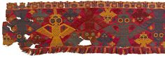 Detail of a textile from Nazca, Peru, c. 1-500 C.E. © Trustees of the British Museum © Trustees of the British Museum