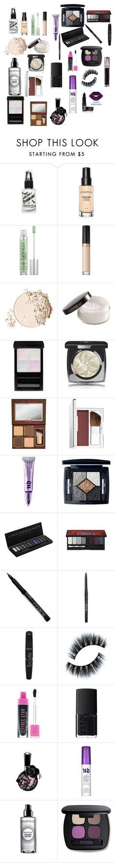 """""""MUOTD"""" by toxxic-venom on Polyvore featuring beauty, Smashbox, Urban Decay, Too Faced Cosmetics, Laura Mercier, Givenchy, Chanel, Clinique, Christian Dior and Kat Von D"""