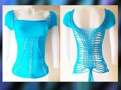Womens / Juniors Blank Turquoise Top Cut Shirt Series Size Small, Medium, Large…